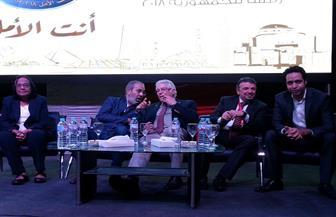 لميس جابر: السيسي أول زعيم يحصل على شعبية جارفة قبل طرح فكرة ترشحه للرئاسة   فيديو وصور