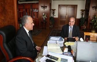 """وزير الري يستقبل رئيس """"النقل النهري"""" للتباحث حول المشاركة في أسبوع القاهرة للمياه"""