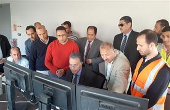 وزير النقل يشهد تشغيل برج التحكم بنظم الإشارات فى محطة إيتاي البارود | صور