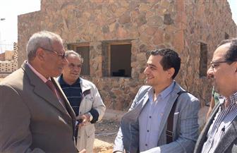 هشام عطوة واللواء السولية يتفقدان قصر ثقافة شرم الشيخ | صور