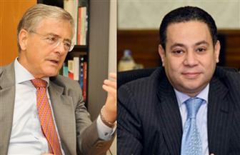 وزير قطاع الأعمال العام يبحث مع سفير ألمانيا بالقاهرة فرص التعاون المشترك