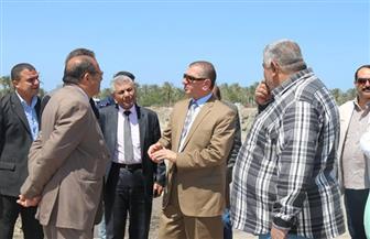 محافظ كفرالشيخ يتفقد موقع إنشاء مصنع الرمال السوداء بالبرلس |صور