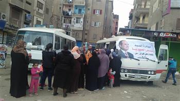 """تواصل جهود القضاء على فيروس """"سي"""" بالغربية.. ومواطنون: الحملة بادرة أمل منحها الرئيس للمصريين   صور"""