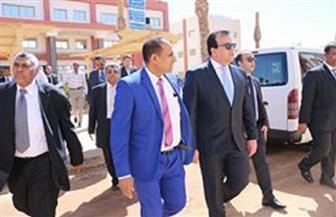 وزير التعليم العالي يفتتح عددا من المنشآت الجديدة بجامعة أسوان | صور