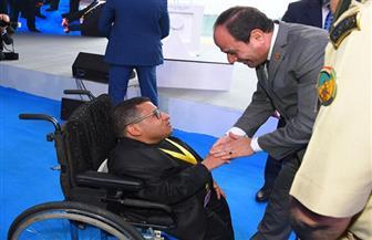 """أحمد رأفت لـ""""بوابة الأهرام"""": """"الرئيس السيسي بسيط ومتواضع للغاية وحاسس بكل الشعب المصري"""""""
