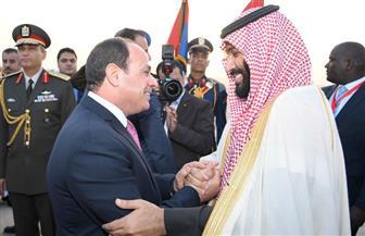 الرئيس السيسي يستقبل ولي العهد السعودي الأمير محمد بن سلمان