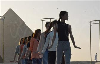 أول بروفة لباليه أوبرا عايدة 2018 أمام تمثال أبو الهول | صور