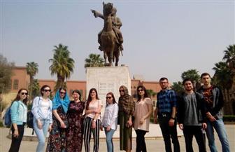 طلاب جامعتين روسيتين يبدأون دراسة الحضارة الإسلامية بجامعة أسيوط   صور