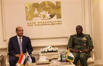 وفد من الملحقين العسكريين الأفارقة يزور الهيئة العربية للتصنيع