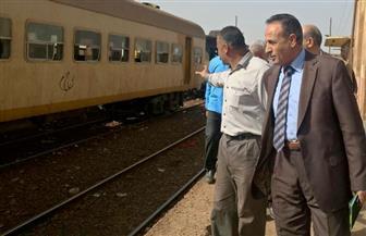 جولة مفاجئة لرئيس هيئة السكك الحديدية لتفقد المزلقانات والسيمافورات | صور