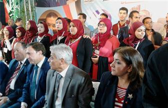 الآلاف من أهالي دمياط في مؤتمر تأييد الرئيس السيسي في كفر البطيخ | صور