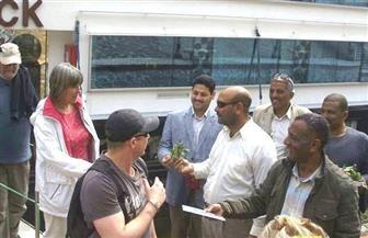 """""""أبيدوس"""" تستقبل فوجا سياحيا متعدد الجنسيات بسوهاج"""
