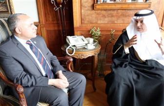 وزير الري يوضح لنظيره السعودي حقيقة الوضع المائي في مصر | صور