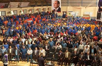 """اليوم.. مؤتمر عمالي فى """"كفرالزيات"""" تأييدا ودعما لانتخاب الرئيس السيسي"""
