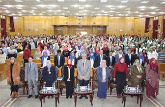 افتتاح الملتقى العلمى السابع عشر للاتحاد المصرى لطلاب الصيدلة بجامعة المنصورة