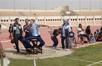 كفر الشيخ تحصد ميداليتين ذهبية وفضية بأسبوع شباب الجامعات لمتحدي الإعاقة بالمنيا| صور