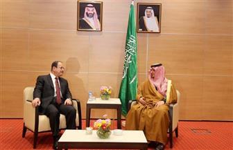 وزير الداخلية يلتقي نظيره السعودي لبحث التعاون في مكافحة الإرهاب والتنظيمات المتطرفة