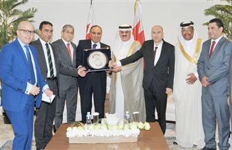 """رئيس مجلس النواب البحريني يلتقي وفد مؤسسة """"الأهرام""""   صور"""
