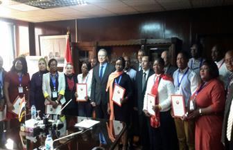رئيس القابضة للكهرباء يشهد احتفالية تخريج متدربي زامبيا
