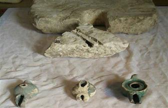 حبس بقال ونجله ضبط بحوزتهما 6 قطع أثرية أثناء قيامهما بأعمال حفر أسفل منزلهما بالبدرشين