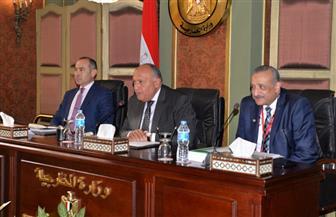 سامح شكري يلتقي دبلوماسيات وزارة الخارجية ويشيد بما يقدمنه من نموذج يدعو للفخر| صور