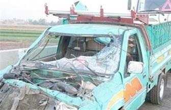 إصابة 15 عاملا في انقلاب سيارة ربع نقل بالفيوم
