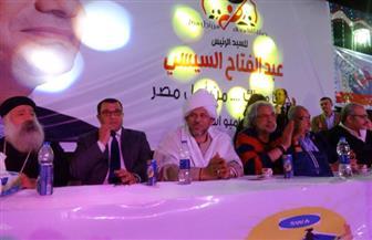 محافظ الدقهلية الأسبق: مشاركة المواطنين في الانتخابات تعني وقوفنا ضد الإرهاب | صور