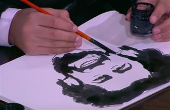 الطفل أيمن الخربتلي يبدع في رسم محمد صلاح على الهواء خلال ٥ دقائق | فيديو
