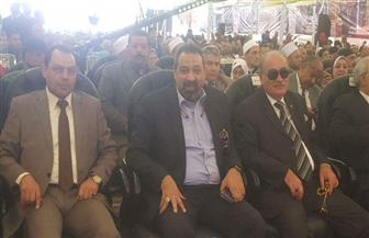 مجدي عبد الغني مداعبا حضور مؤتمر دعم السيسي: أوعوا الانتخابات تنسيكم الجول بتاعي