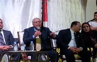 حمدي بخيت في مؤتمر لدعم السيسي بسفاجا :المقبوض عليهم في سيناء دليل إدانة لبعض الدول| صور