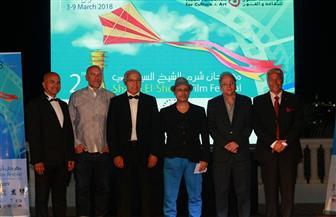 انطلاق حفل ختام مهرجان شرم الشيخ السينمائي بتحية شهداء الجيش والشرطة