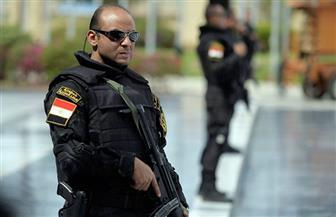 """تعزيزات أمنية بمحيط الكاتدرائية المرقسية بالإسكندرية بالتزامن مع احتفالات """"أحد السعف"""""""