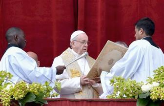 """البابا فرانسيس بـ""""عظة الفصح"""": الأراضي المقدسة جرح ينزف.. وسوريا تواجه """"إبادة جماعية"""""""