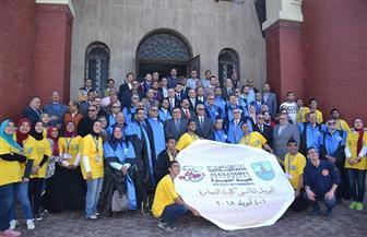كلية التجارة بالإسكندرية تحتفل بمرور 75 عاما على إنشائها   صور