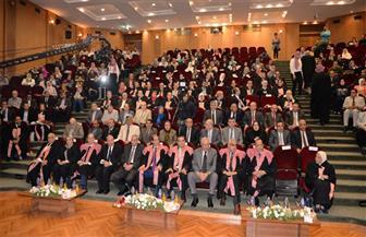 جامعة المنصورة تكرم 65 من العلماء والباحثين خلال احتفالية عيد العلم العاشر