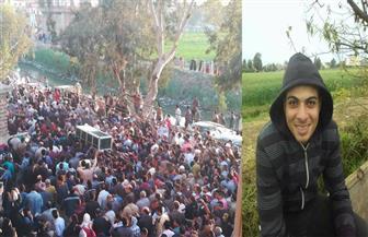 """""""كفر الأطرش"""" بالدقهلية تشيع جثمان المجند الشهيد محمد جمال الذكراوي"""