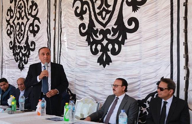 عبد المحسن سلامة: بدء حفر المبنى الخدمي لـ الأهرام  بالقرية الذكية خلال أسبوع بتكلفة 70 مليون جنيه   صور -