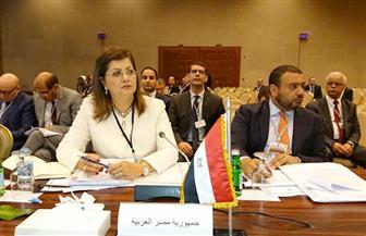وزيرة التخطيط تستعرض جهود تحقيق الإصلاح الاقتصادي مع رئيس الصندوق العربي للإنماء
