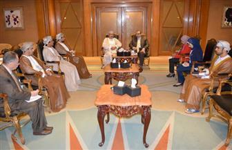 """""""عُمان"""" زيارة الرئيس السيسي للسلطنة أسهمت في زيارة التعاون مع مصر / صور"""