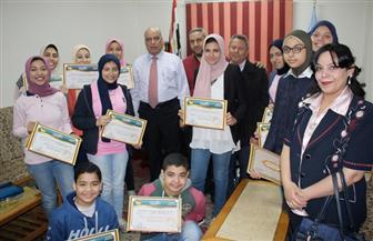 تعليم الغربية تكرم الفائزين في مسابقة إنتل مكتبة الإسكندرية للعلوم والهندسة | صور