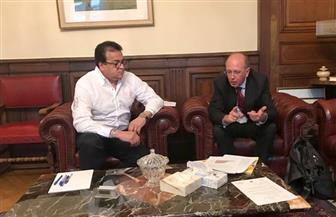 خالد عبدالغفار: فرنسا شريك حقيقي لمصر في مجالات التعليم والبحث العلمي | صور