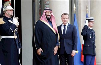 الرئيس الفرنسي وولي عهد السعودية يبحثان الفرص الاقتصادية