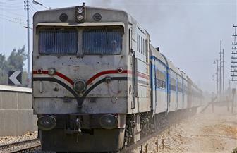 استبدال جرار القطار المتوقف بمحطة مركز قوص بقنا واستكمال رحلته لأسوان
