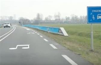 طريق في هولندا يعزف أنغاما تزعج القرويين