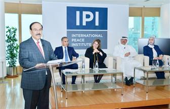 المعهد الدولي للسلام بالبحرين يطلق مبادرة الدبلوماسية الوقائية للمياه بحضور مصري | صور