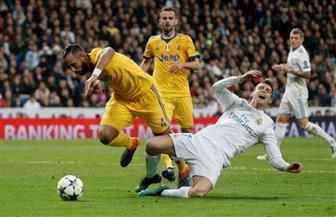 يوفنتوس يقترب من المستحيل بهدفين في مرمى ريال مدريد في الشوط الأول
