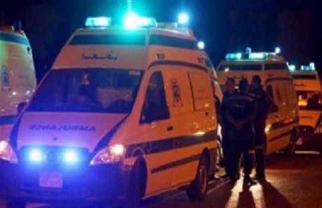 إنقاذ شخصين بعد سقوط سيارة بترعة المريوطية بالبدرشين