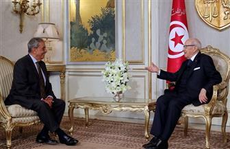 عمرو موسى يناقش مع رئيس تونس الأوضاع العربية وسبل معالجة التحديات بما يعزّز مناخ الاستقرار