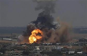 جيش الاحتلال يقصف موقعا لحركة حماس في غزة