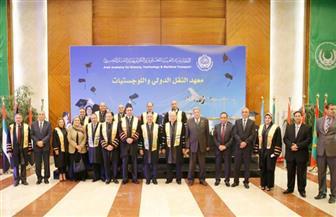 الأكاديمية العربية تحتفل بتخريج 688 طالبا من معهد النقل الدولي   صور